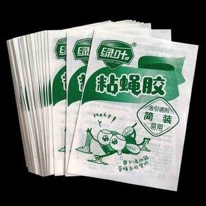 Image 4 - 20/50 sztuk zielony liść silne muchy pułapki błędy lepkie deski łapanie mszyc owadów urządzenie unieszkodliwiające szkodniki na świeżym powietrzu pułapka na muchy dla mszyc grzyb
