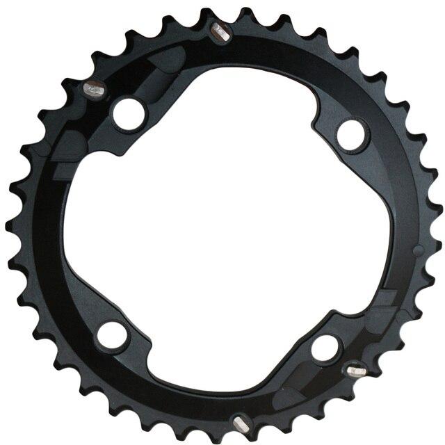 Ganopper 22T 36T 64mm 104mm roue à chaîne AL7075 vélo pédalier VTT 2X système manivelle chaîne vélo partie pour vtt fatbike