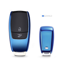купить Free Shipping Car Key Cover Car Accessories Soft TPU Case Shell For Mercedes Benz 2017 E Class W213 Car-Styling Protective Shell по цене 147.85 рублей