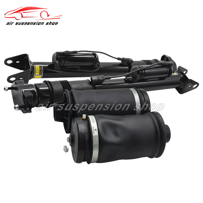 for Mercedes-Benz <font><b>GL</b></font> <font><b>X164</b></font> W164 GL320 GL350 GL450 Air Suspension Shock Air Strut w/ Rear Air Spring Bag 1643201025 164 320 20 31 image