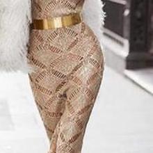 Хорошее качество, длинное платье макси без рукавов с золотыми блестками,, Прямая поставка, платье+ костюм