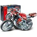 Decool 3353 - 54 мотоцикл мотоцикл модель автомобиля строительный блок устанавливает образования DIY кирпичи игрушки