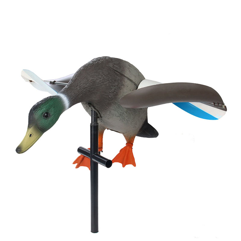 Canis Latrans Model Duck Outdoor View Wind Duck Hunting Target Gs38-0006