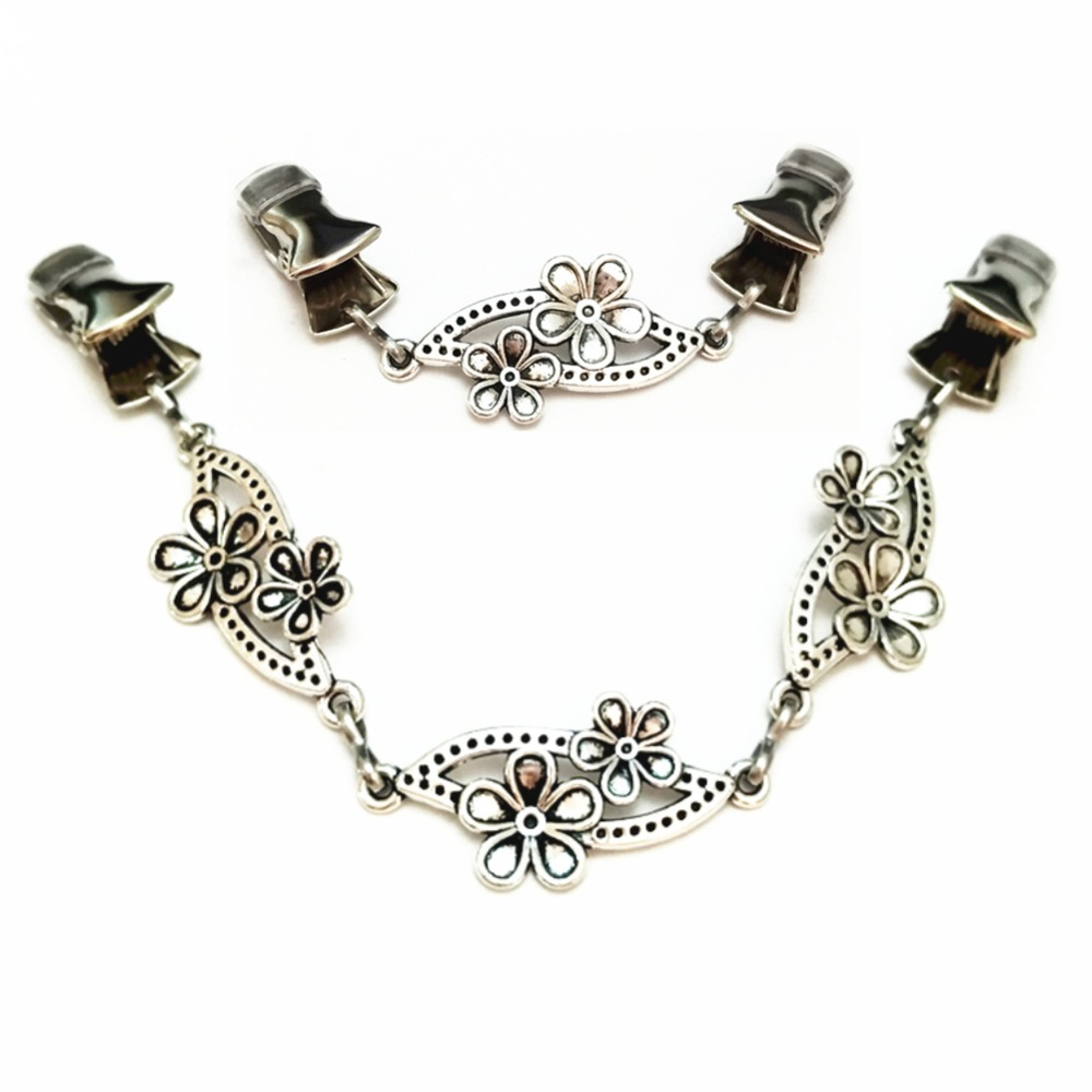 Jewelry & Accessories Bling Stones Cardigan Clip Women Gypsophila Baby Breath Sweater Cinch Clamps Brooch Pins Vintage Cloak Clasp Brooches