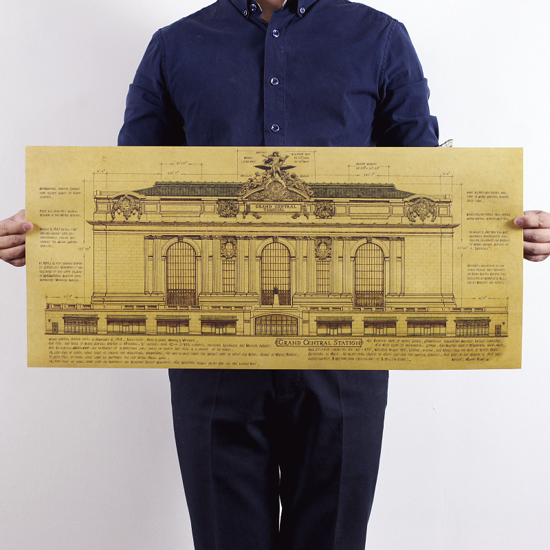 Popular Vintage Architectural Drawings Buy Cheap Vintage