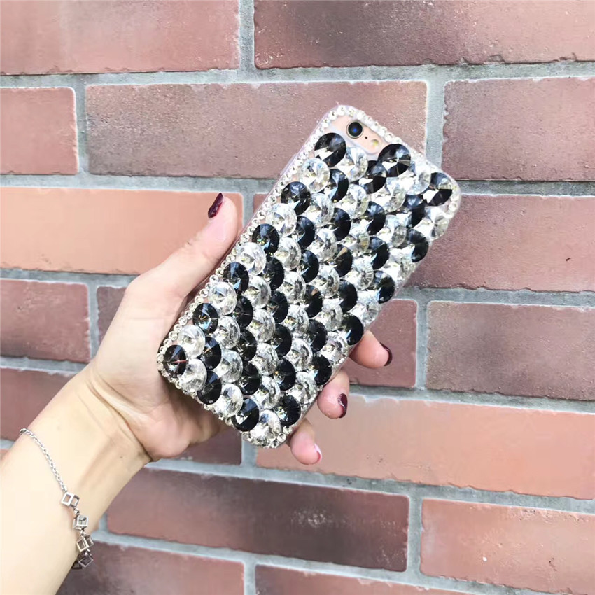 Bling Rhinestone Crystal Diamond Back Phone Case Cover For Sony Xperia XZ2 Compact - intl