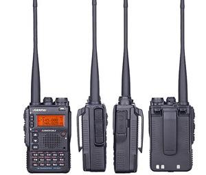 Image 2 - UV 8DR dual band walkie talkie 136 147/400 520mhz LCD screen gruppe rufen signal anruf dual PTT CB radio leistungsstarke radios