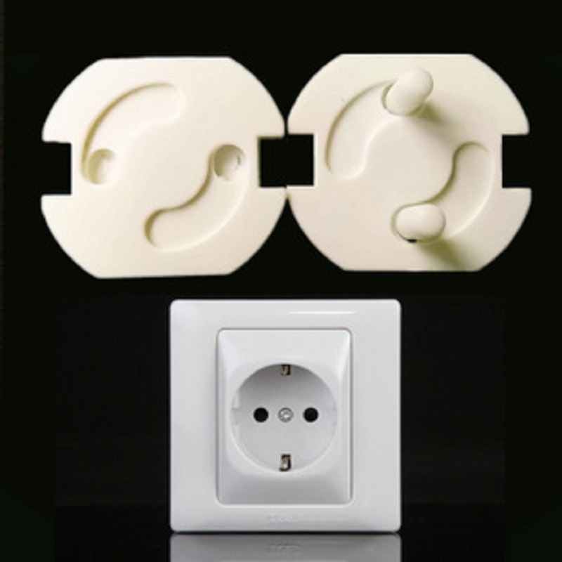20psc/lot European Transparent Children's Power Socket Protection Cover White Electrical Safety Various Models Available