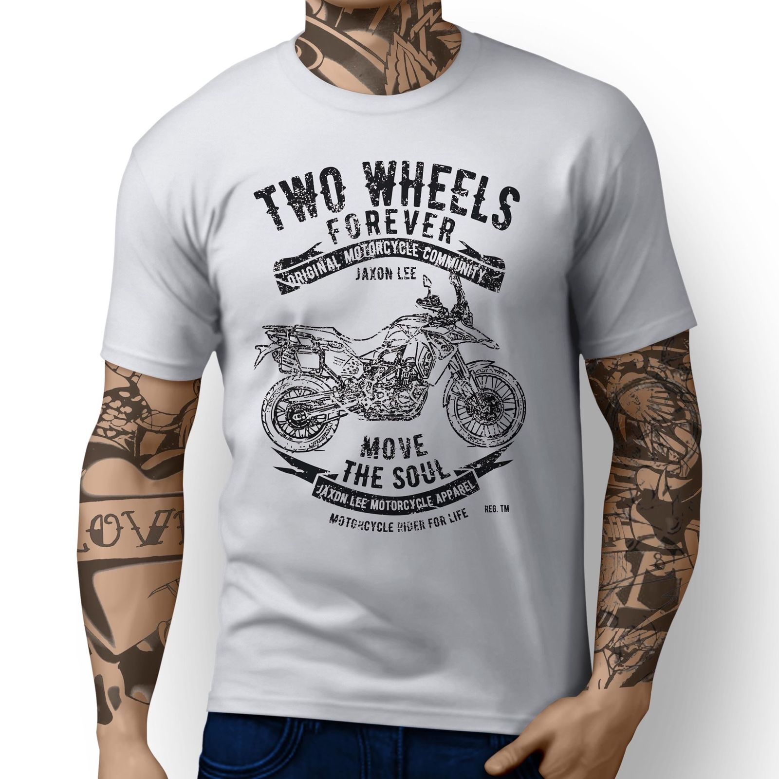 Us 12 74 15 Off 2019 New Cool Tee Shirt Germany Adventure F800gs Adventure Inspired Motorcycle Art Design T Shirts In T Shirts From Men S Clothing