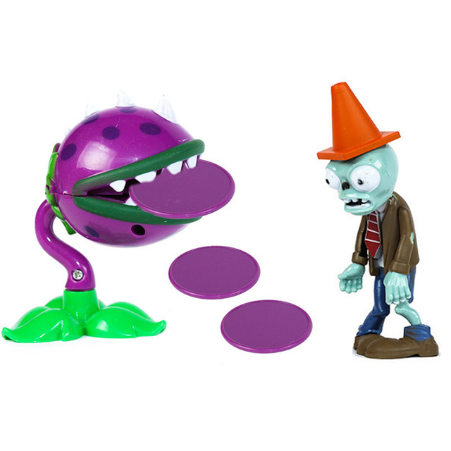 (no box?1 set original Plants vs. Zombies pvc figures toys for Children Plants Zombies game play action toys giftsAction & Toy Figures