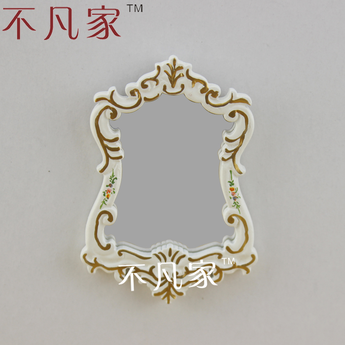 DOLLHOUSE MINIATURE FURNITURE BEAUTIFUL CLASSICAL STYLE MIRROR