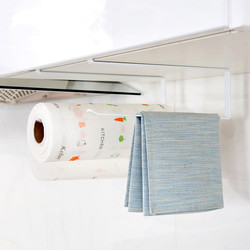 Kitchen Paper Hanger Sink Roll Towel Holder Organizer Rack Space Save Bathroom Roll Paper Shelf