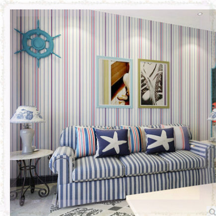striped living room walls vintage wall paper stripes living room tv background wall 15740