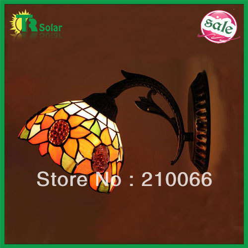 Tiffany Wall Lamp lighting Home Decor,Fashion Stained Glass,Chamilia beads Wall Lamp for bedroom, living room free shipping