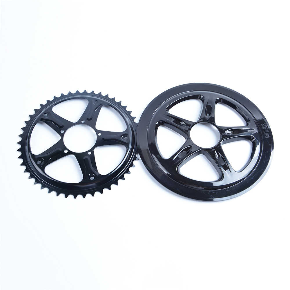 44T 46T 48T 52T Chainwheel for Bafang 8fun Mid Drive Motor BBS01/BBS02 Chain Ring Sprocket Wheel Crank Set