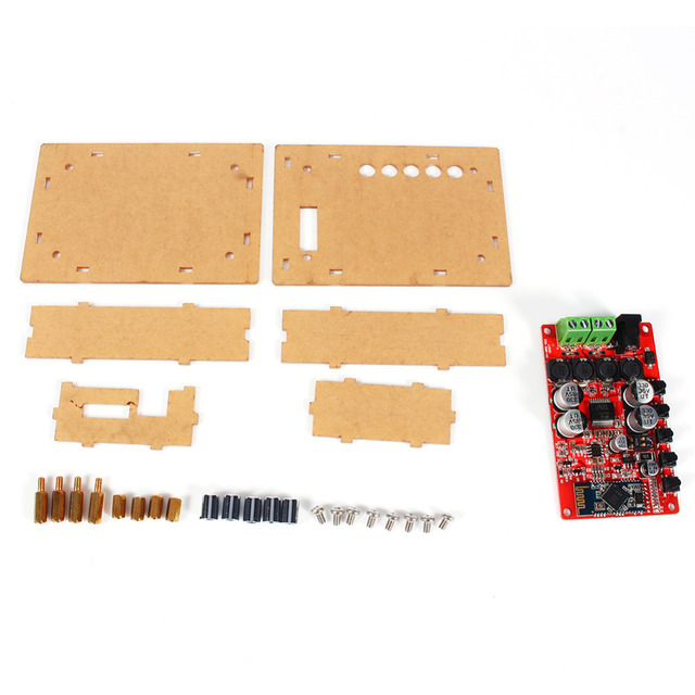 Tablero Del Amplificador Digital de TDA7492P 50 W + 50 W Inalámbrica Bluetooth 4.0 Receptor de Audio Tablero Del Amplificador