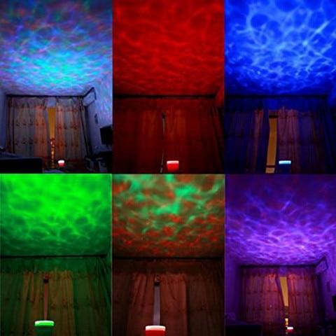 night light projetor luminaria novidade lampada usb