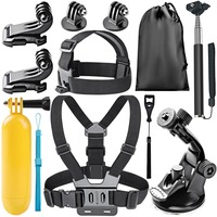 8 In 1 Action Camera Accessory Kit For GoPro Hero Session 5 Hero 1 2 3