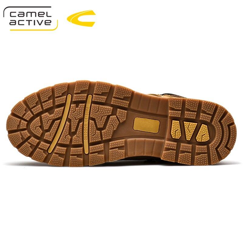 Camel Active Nieuwe Hoge Kwaliteit Enkellaarsjes Voor Mannen Schoenen Outdoor Casual Rijden Paardensport Laarzen Zapatos de Hombre Mannen Laarzen - 3