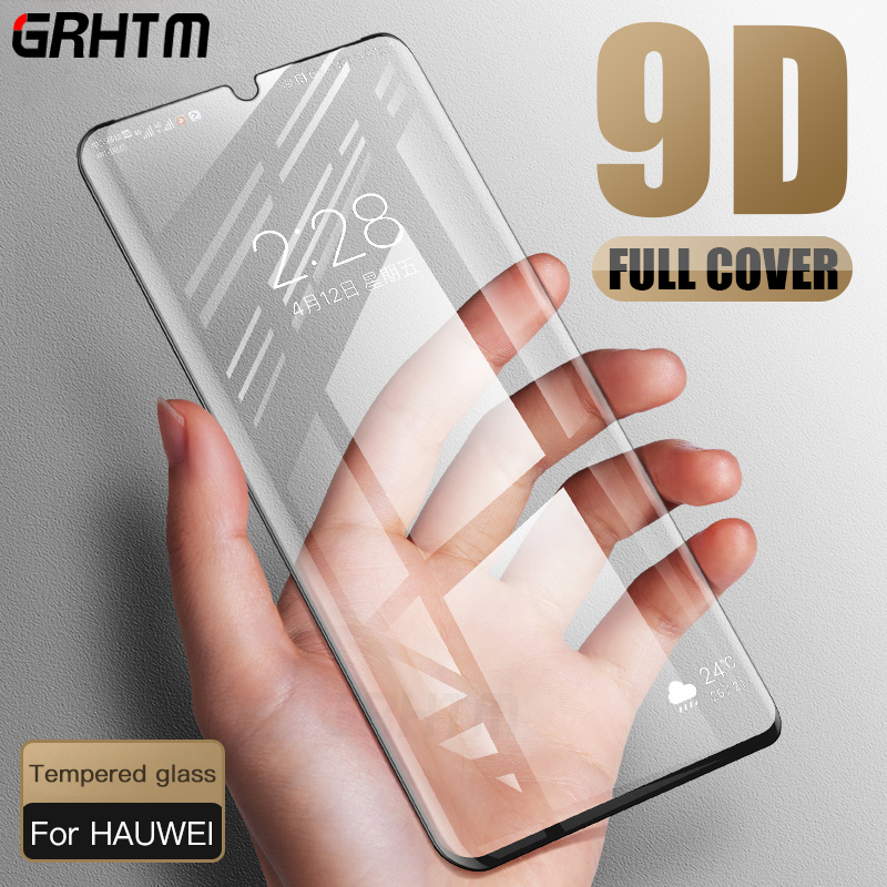 Huawei P30 Pro Screen Protector Tempered Glass For Huawei Mate 20X 20 Pro Lite Huawei P30 Lite 9D Full Cover Protection Glass