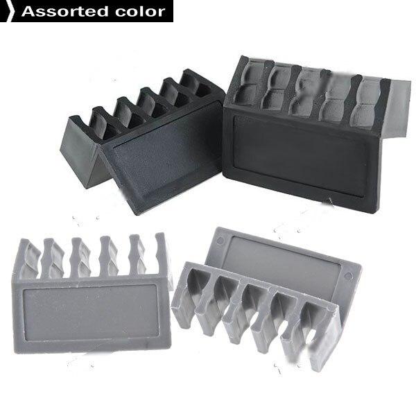 Moblin 2pcs Plastic Flexible Cable Fixer Fastener Organizer Holder ...