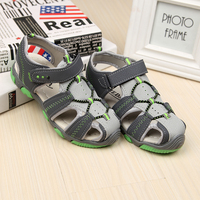 Summer Hollow Anti Slip Beach Boys Sandal Car Styling Kids Boys Leather Sandals Children Footwear Sapato