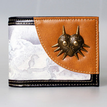 The Legend of Zelda wallet Young men and women students personality short animated cartoon fashion purse  DFT-1375