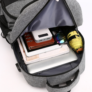 Image 5 - Fashion Backpack 2020 Men Backpack Student Charging Laptop Wear Backpack Resistant Pack SchoolBags For Teenage Boys Mochila