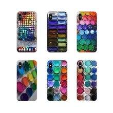 Para Motorola Moto X4 E4 E5 G5 G5S G6 Z Z2 Z3 G3 G2 C Play Plus caja de maquillaje de Color accesorios fundas para teléfono