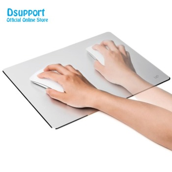 AP-5S Large Size 4.5mm Aluminum Alloy Gaming Mouse Pad with Non Slip Rubber Base Frosted Surface 30X24CM mouse mat mouse pad mouse mat gaming aluminum alloy double side 10 49 8 86 inch anti slip non slip large metal for mackbook laptop rubber