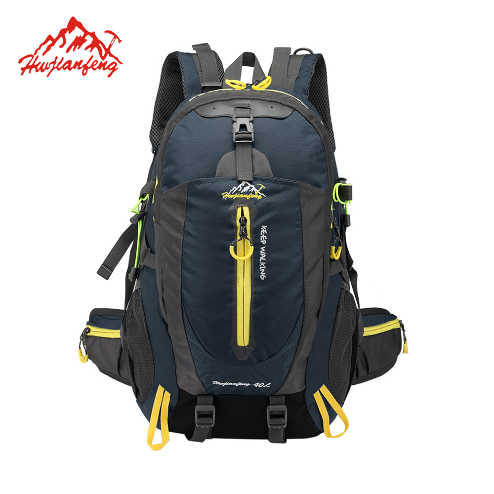 Us 18 21 27 Off 40l Waterproof Tactical Backpack Hiking Bag Cycling Climbing Rucksack Laptop Travel Outdoor Men Women Sports In