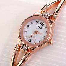 2017 new practical popular Handsome cool rich Modern  Fashion Women Girl Bracelet Watch Quartz OL Ladies Alloy Wrist Watch P*21