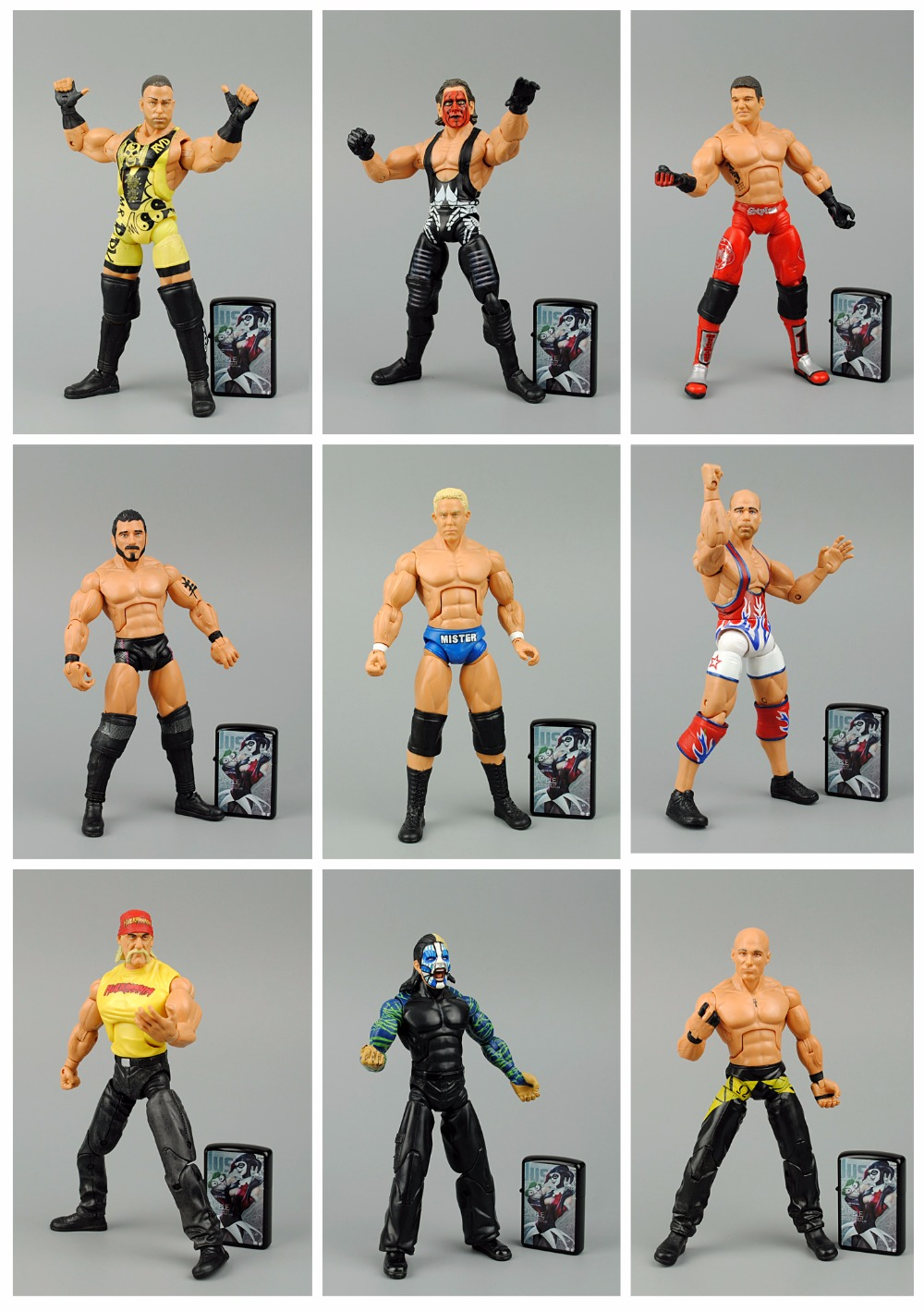 7 inch High Classic Toy Ring combat Christian occupation wrestling wrestler action figure Toys For Children Classic Gift