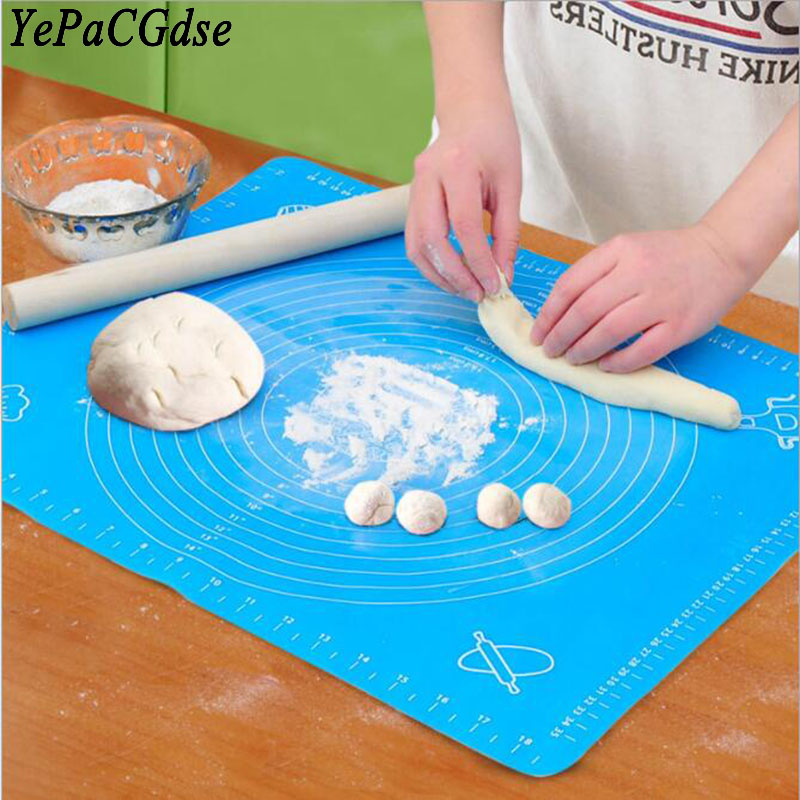 Environmentally friendly silicone baking mat food grade non-slip insulation table kitchen tools