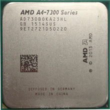 Processeur AMD A4-Series A4-7300 A4 7300 A4 7300K A4 7300B 3.8 GHz, double cœur, prise FM2