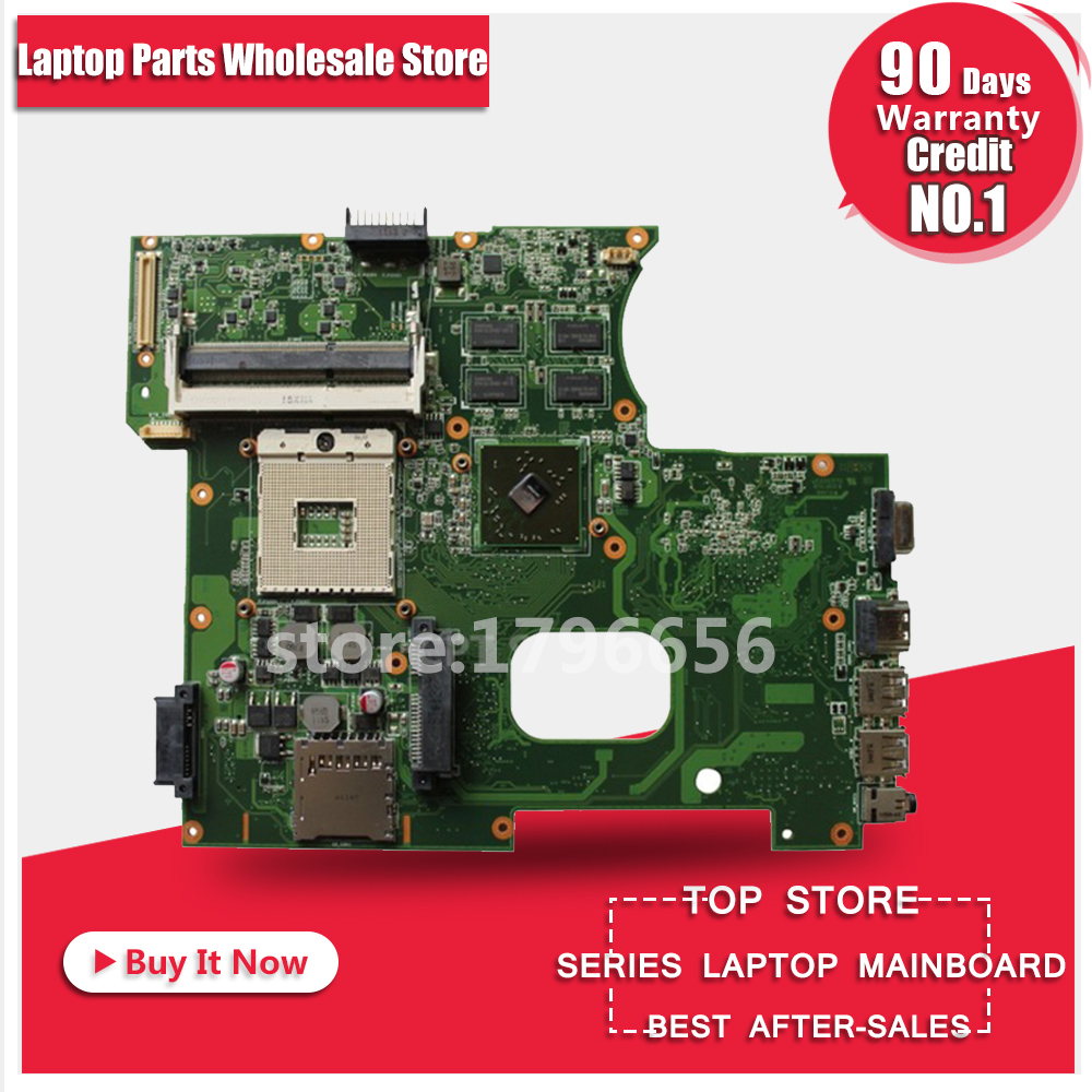 For ASUS X42J K42J K42JR laptop Motherboard REV 4.0 fit for K42JB K42JZ K42JY mainboard DDR3 HM55 free shipping brand new for asus k53sd rev 6 0 motherboard rev 6 0 with i3 processor mainboard