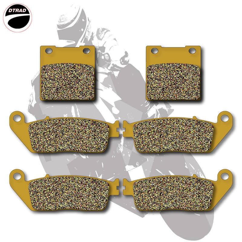 Motorcycle Brake Pads Front+Rear For SUZUKI  RF 400 93-97 GSX 400 94-96 GSF 600 95-99 RF 600 93-97