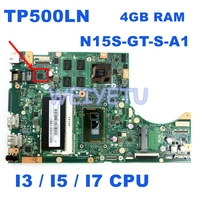 TP500LN I3/I5/I7 CPU placa base REV2.0 para ASUS TP500L TP500LN TP500LD portátil placa base 100% probado envío gratis