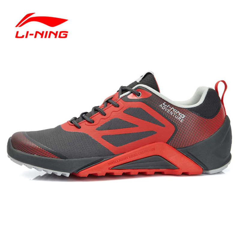 Li-ning hombres Originales Trail Running Shoes Amortiguación Suave Transpirable