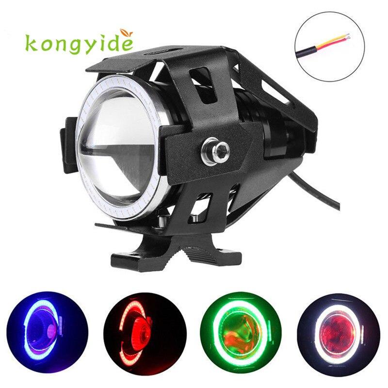 U7 LED Motorcycle Light Headlight Spotlight Driving Fog Lamp 3 Modes 12-80V Luz Ligero new hot drop shipping 17july5