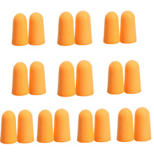 Prevention tapered moonbiffy reduction earplugs noise plugs orange sleep foam sleeping