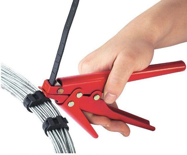 Ferramenta automática da arma do corte da tensão dos laços resistentes do fecho de correr do cabo de 2.4-9mm