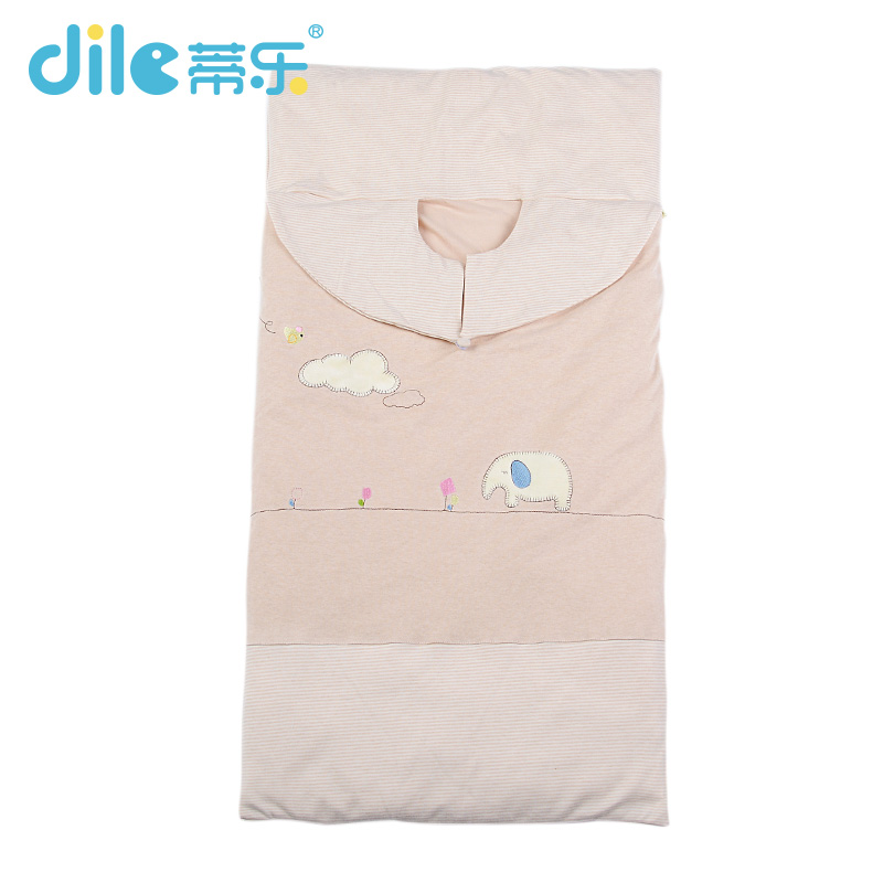 Dile Baby Sleepsiut Cotton sleepsack Fawn Print Kid Sleep Bag winter infant Sleep Rompers