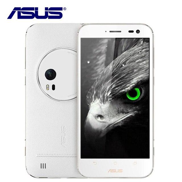 Новый оригинальный ASUS ZENFONE ZOOM ZX551ML мобильный телефон 4 ядра 4 г LTE 5.5 дюймов 4 ГБ Оперативная память 64 ГБ Встроенная память 13.0MP Камера смартфон 3000 мАч