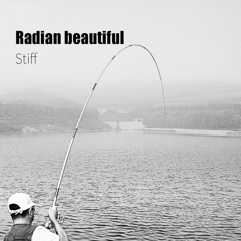 25dc69f49 Zuanshi Rocha Vara De Pesca De Combinação 3.6 6.3 M de Altura Haste  Telescópica Vara De Pesca de Carbono super difícil de Alto Desempenho para  o Mar vara de ...