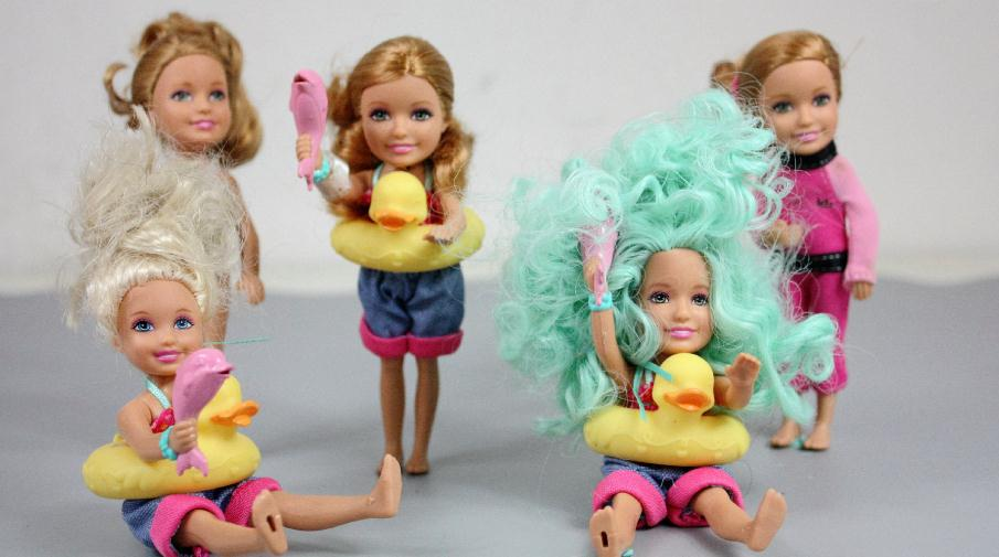 5 Pieces/lot HOT SALE Original SIMBA Kelly Dolls EVI Cute Baby Doll Kids Gift Mixed Styles Mini Simba Dolls 6cm