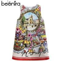Beenira Children Summer Dresses 2019 New European And American Style Kids Castle Sleeveless Party Dresses Girls 14Years Dress