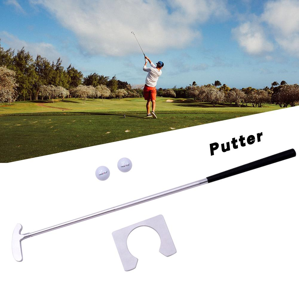 Golf Club Putter Aluminum Training Two-Way Head Putter For Left And Right Hand Golf Putter Outdoor Sports Beginner Driver Golf
