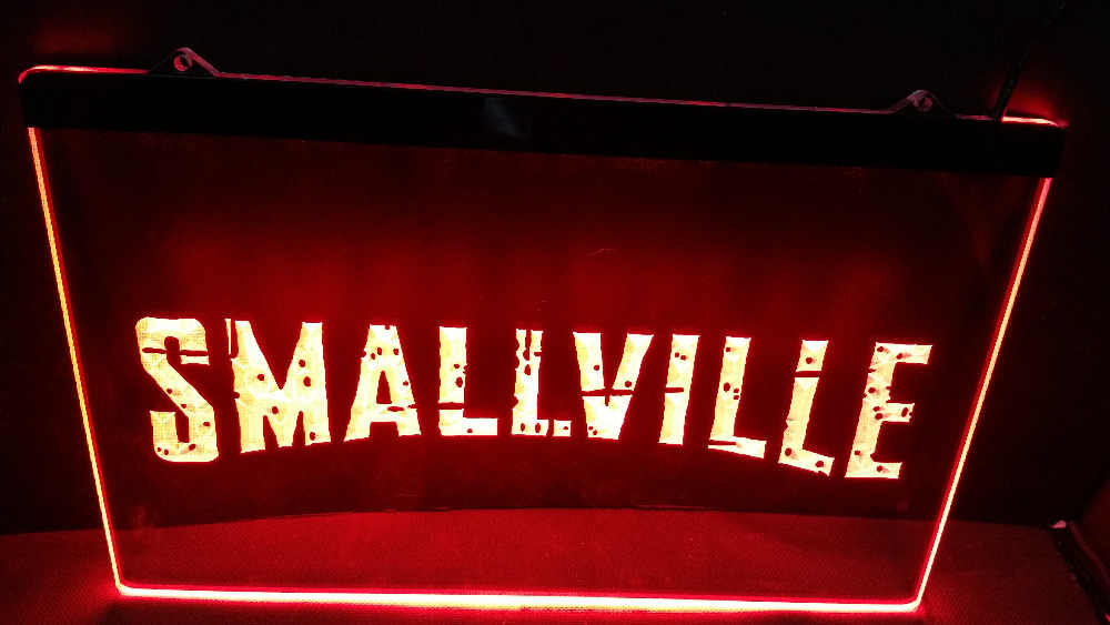 Cartel de neón led para bar de cerveza de SMALLVILLE, venta al por mayor y al por menor