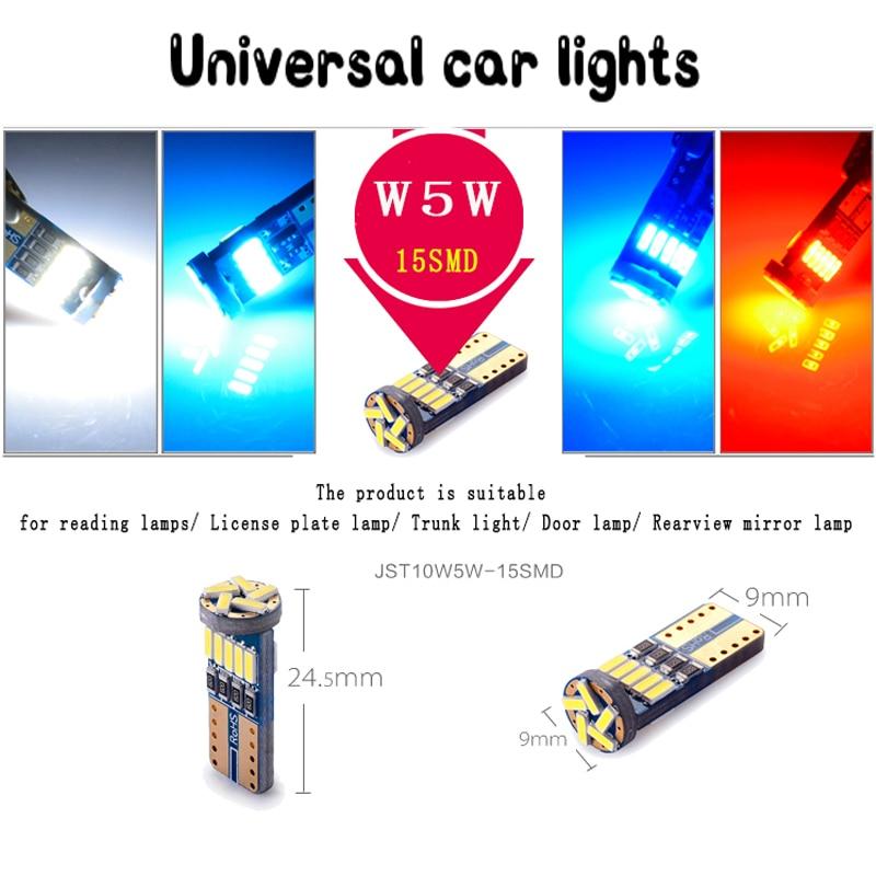 5piece / set Roewe 750 950 12VAC avtomobil oxu lampası canbus led - Avtomobil işıqları - Fotoqrafiya 3